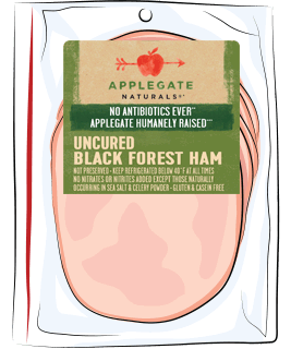 Applegate Naturals Uncured Black Forest Ham